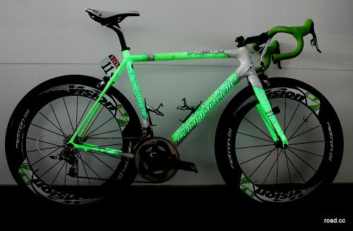 e6bc3250078 The first thing we did when we saw Sagan's famous 'Hulk' Cannondale  SuperSix Evo at the CSG show (CSG is Cycling Sports Group, Cannondale's UK  distributor) ...