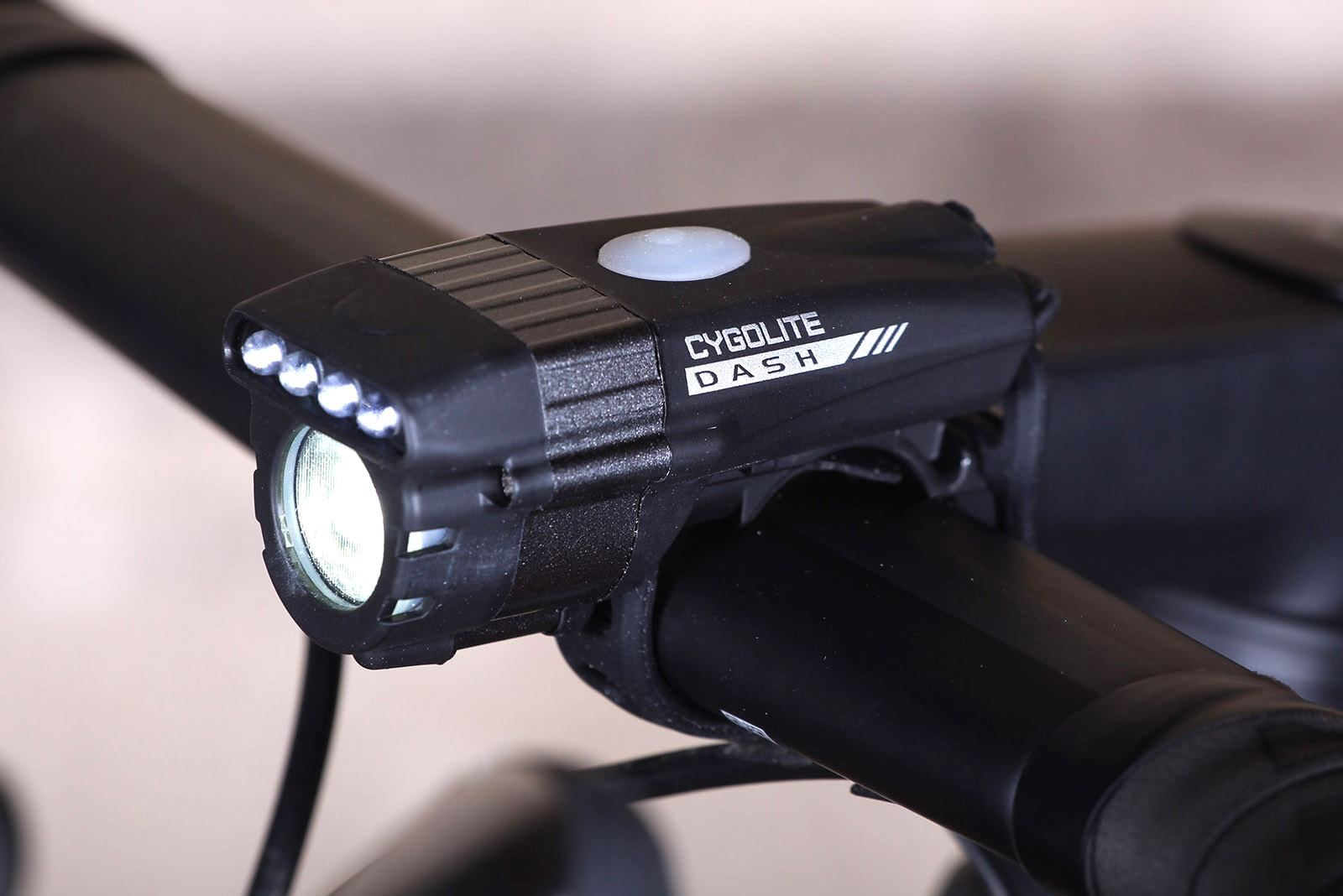 Cygolite Zot 450 Lumen Headlight Bike Light USB Rechargeable Easy Mount Bright