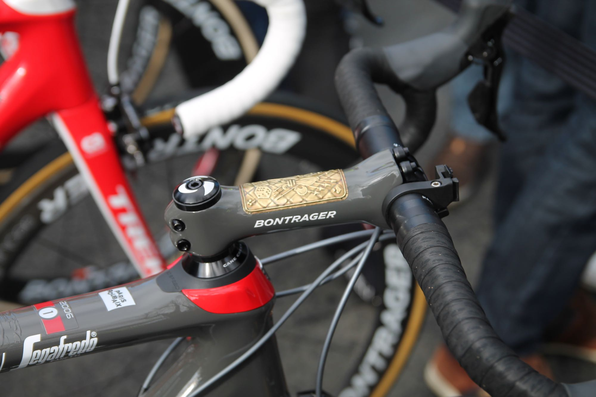 Paris-Roubaix Tech: Fabian Cancellara's Trek Domane SLR