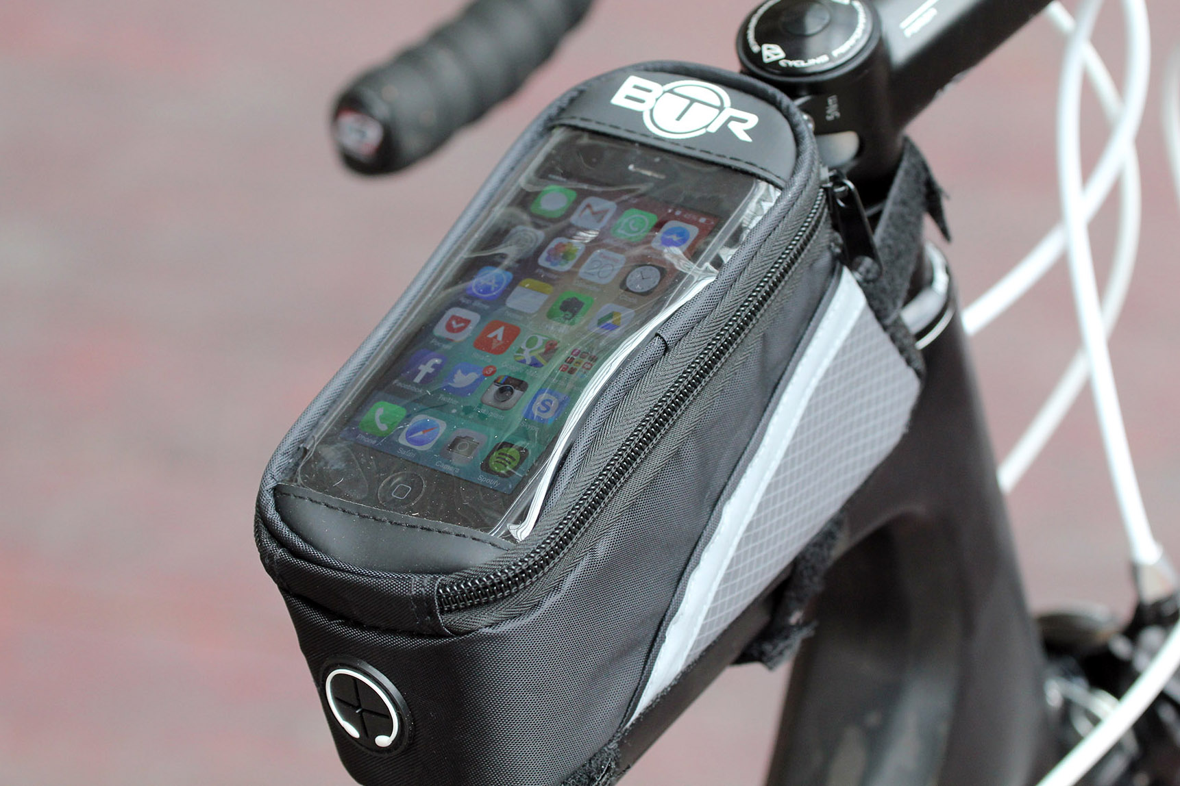 7 Btr Water Resistant Frame Bike Bag And Mobile Phone Holder Rockbros A 008 Handlebar Front Waterproof Pannier 3 4l Small Storage In