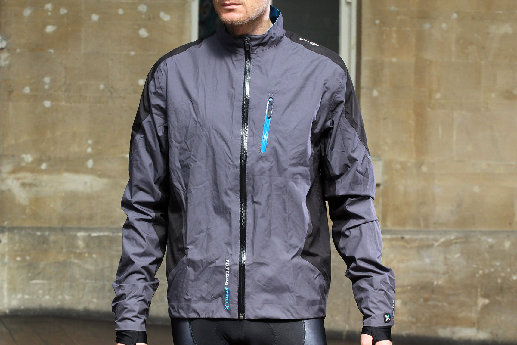 Review: B'Twin 700 Cycling Waterproof Jacket | road.cc