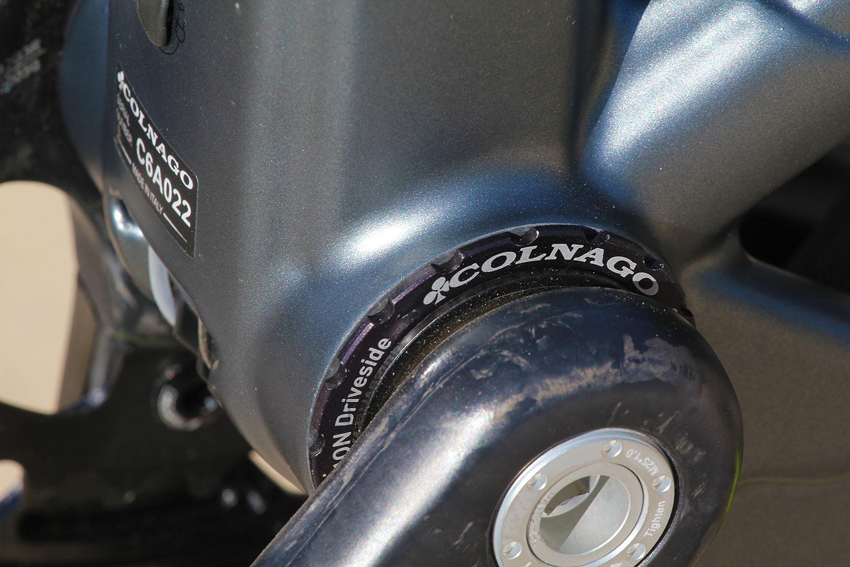 9 Colnago C60 Road Bike Frame 349995 Sensational Performance Trailer Country C2 Bb Wiring Diagram Threaded Insert
