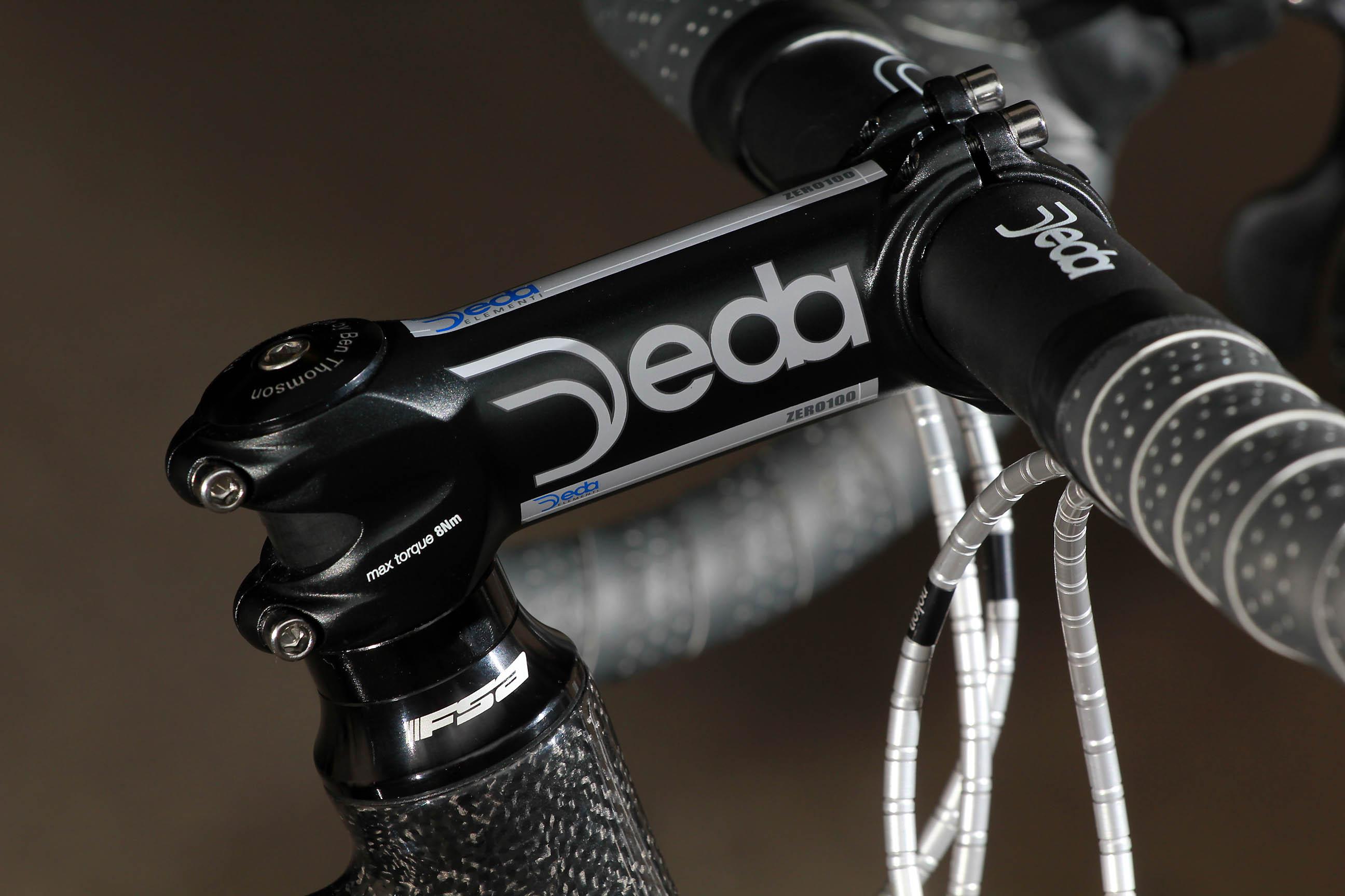 Deda Presa Road bike handle bar tape Black Grey