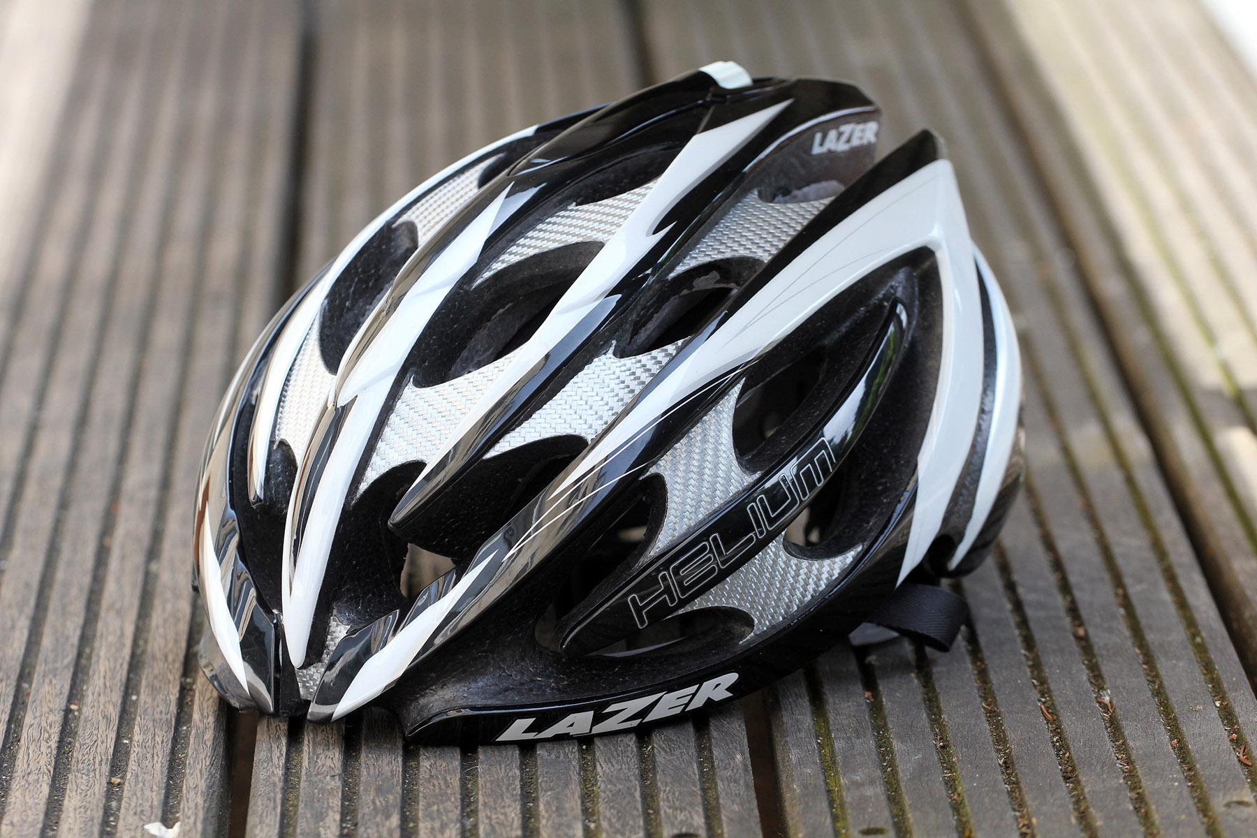 Lazer Helium Helmet Black Grey Medium