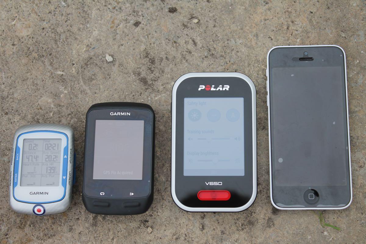 Review: Polar V650 GPS cycling computer | road cc