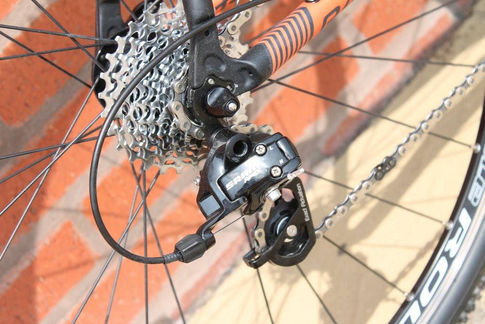 F3-1101414 Raccordo pompa officina reversibile con leva per Bici Bicicletta Cicl