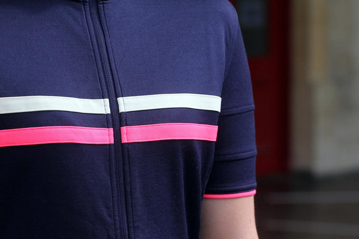 RAPHA Ladies Purple Short Sleeved Brevet Cycling Jersey II Top XS BNWT