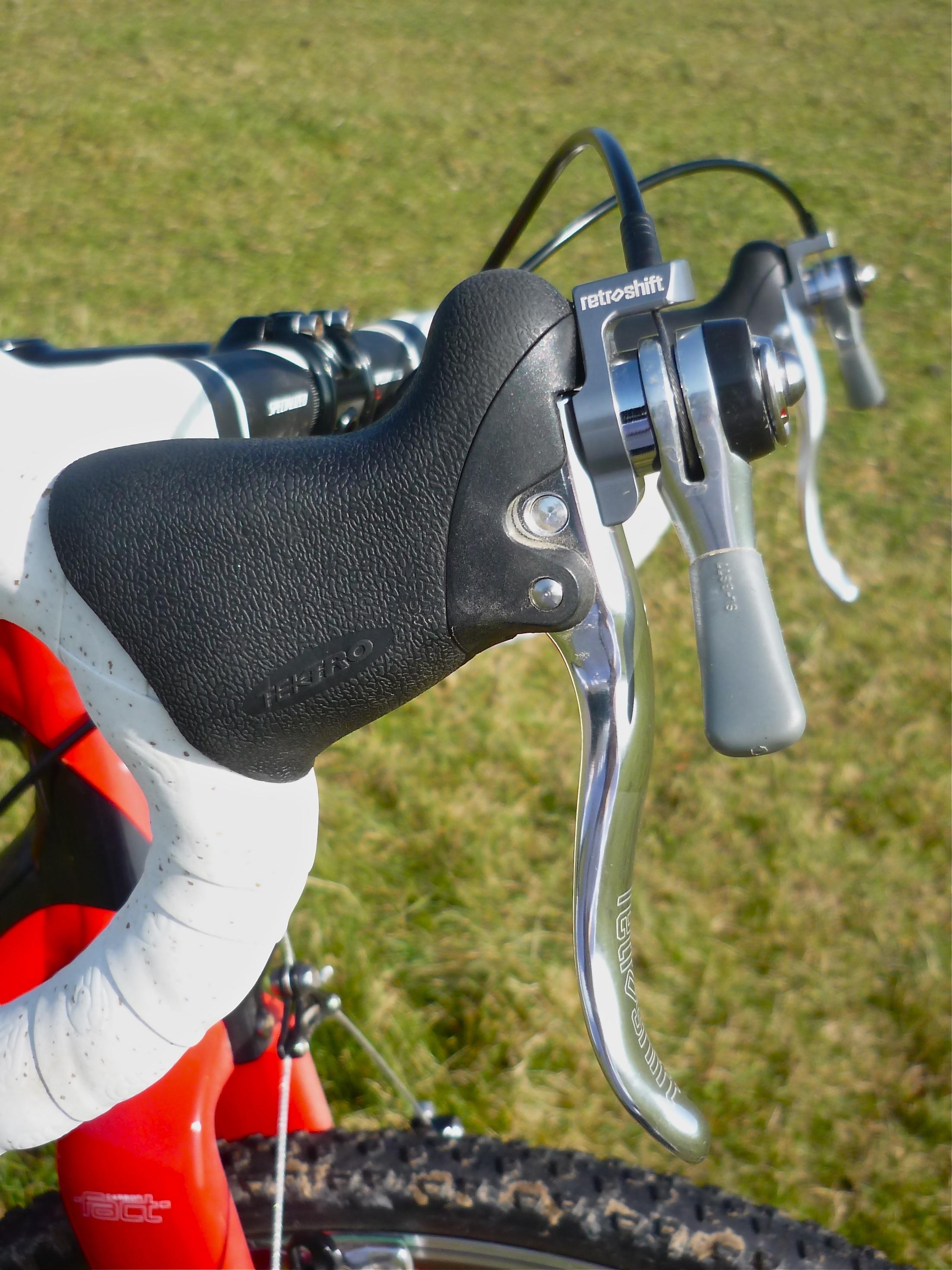 TEKTRO R200A Ergonomic Road Bicycle Brake Levers Fixed Gear FREE USA SHIPPING
