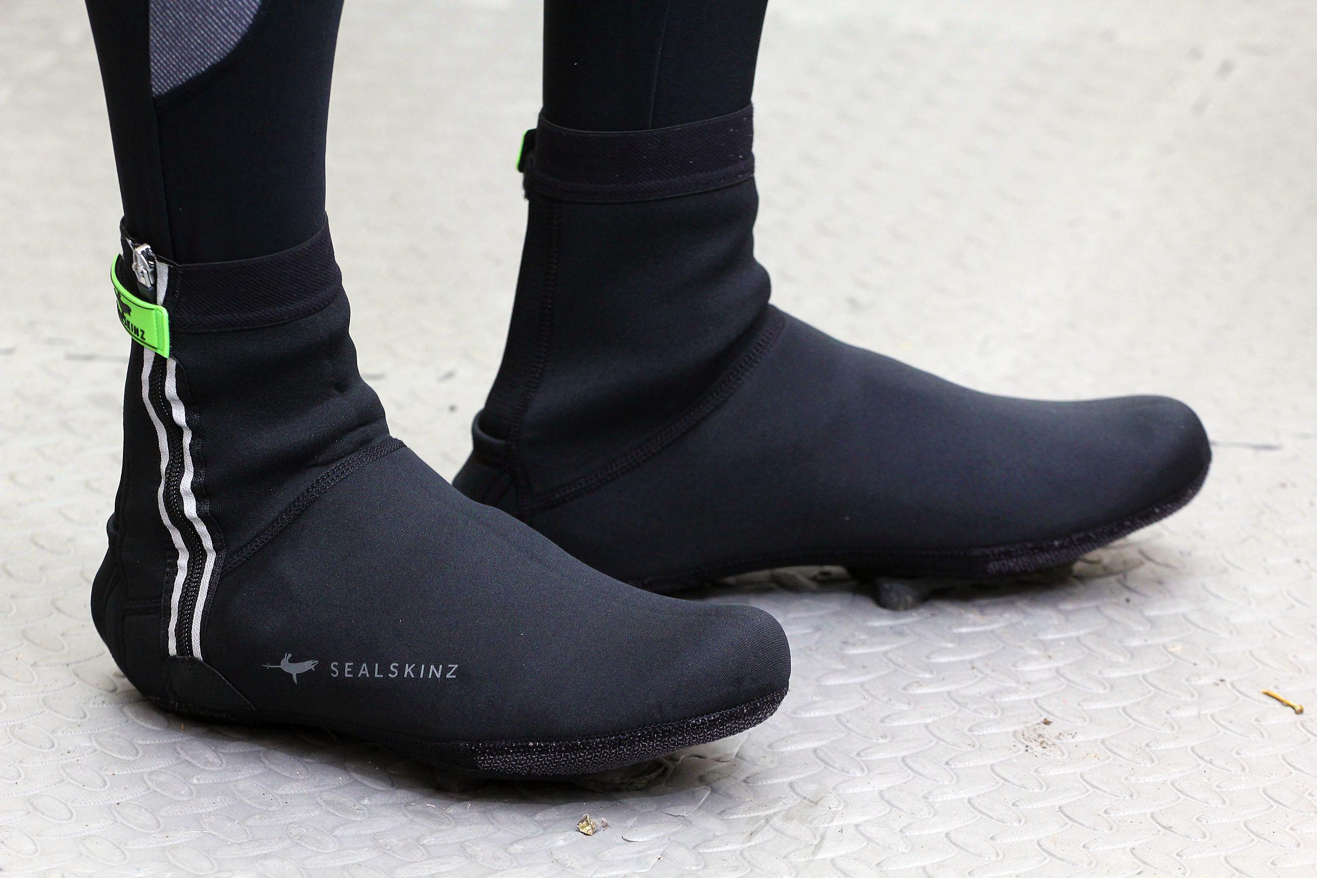 SealSkinz Neoprene Cycling Overshoes Black