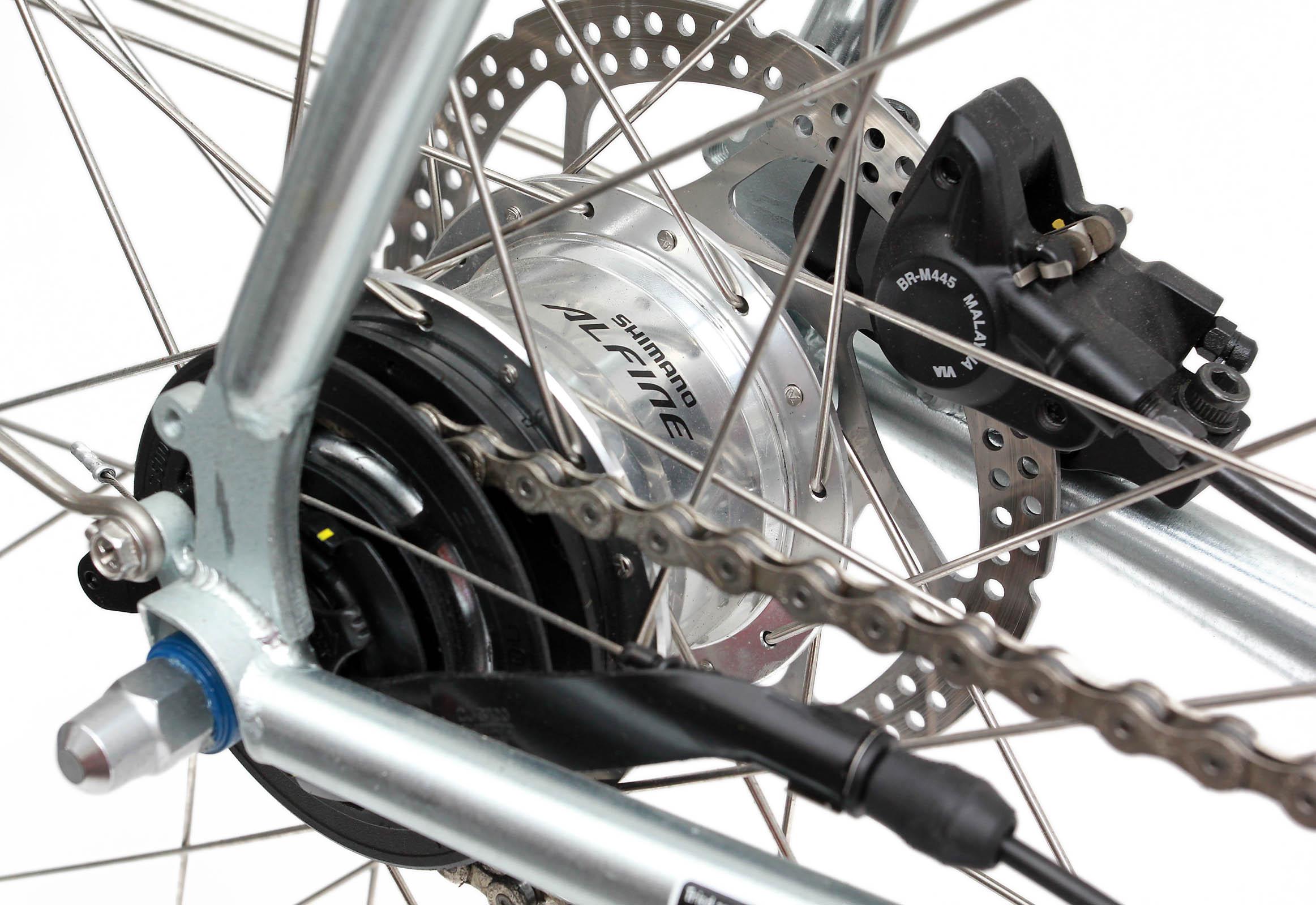 SHIMANO Alfine 11-Speed Internal Geared Bicycle Disc Brake Hub SG-S7001-11
