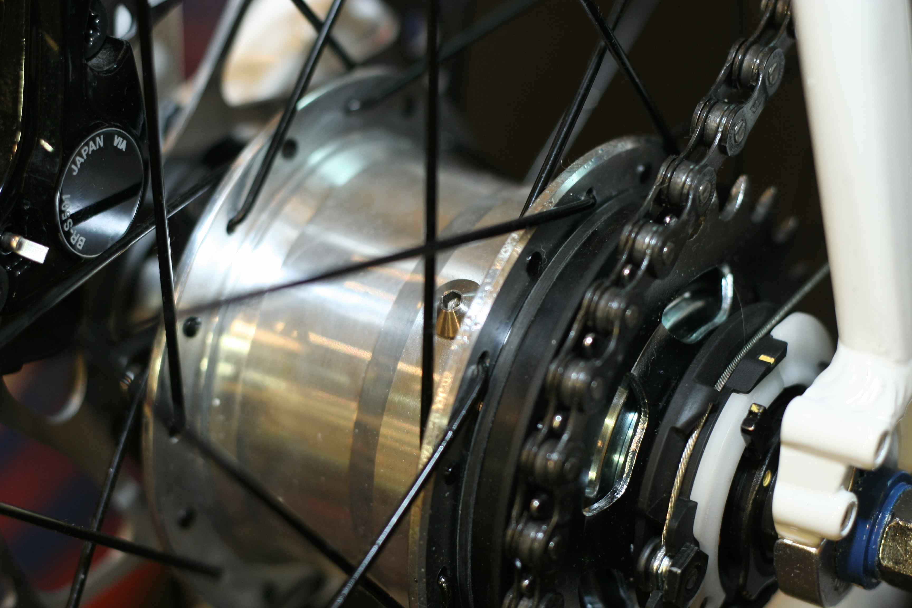 Shimano Alfine 11 speed hub - the car park test + now with