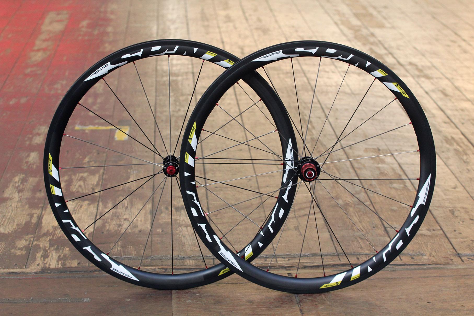 9 Spin K2 Carbone Xlr38 25mm Fat Boy Clincher Wheels 990 00