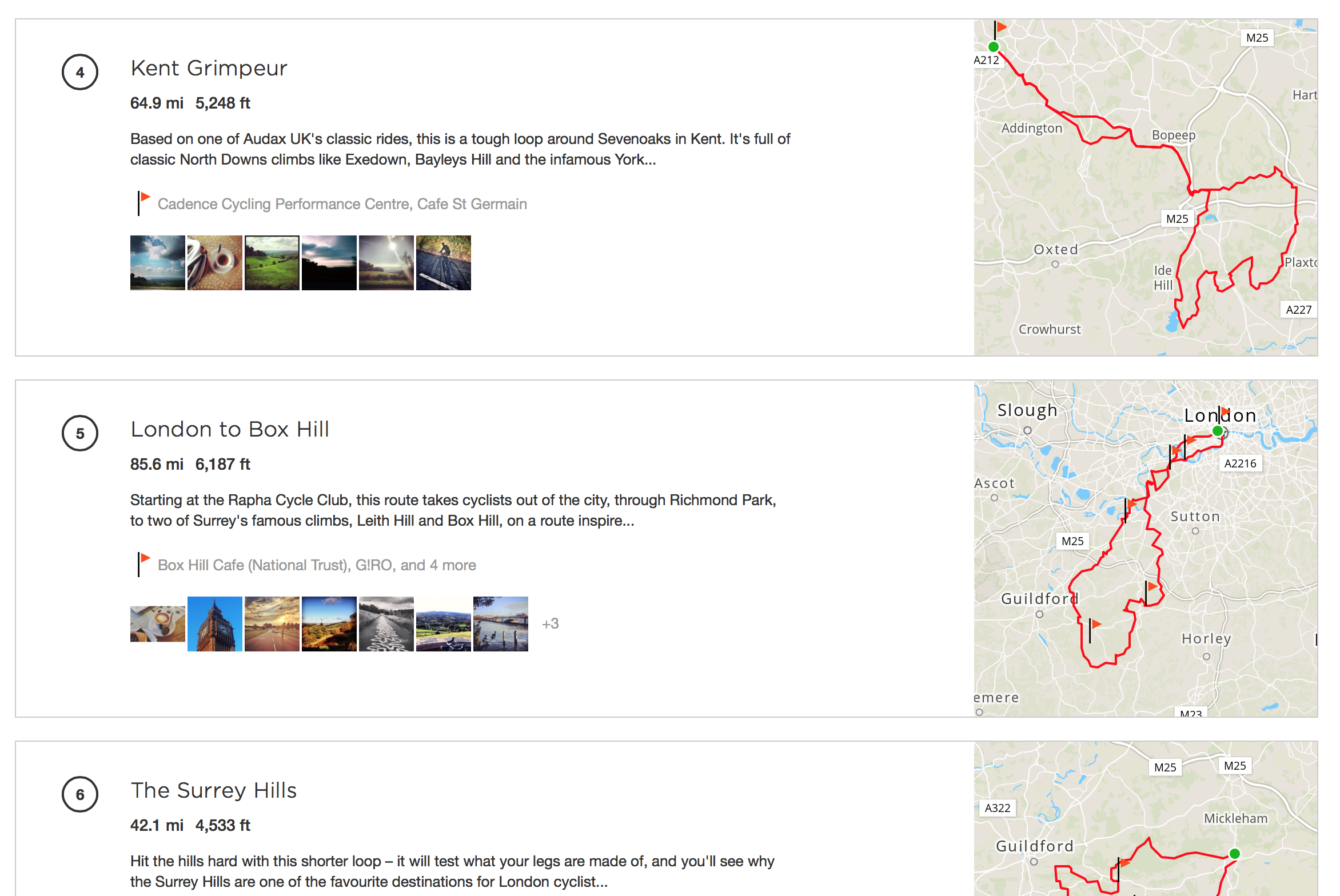 Try These Strava Route London To Box Hill {Mahindra Racing}