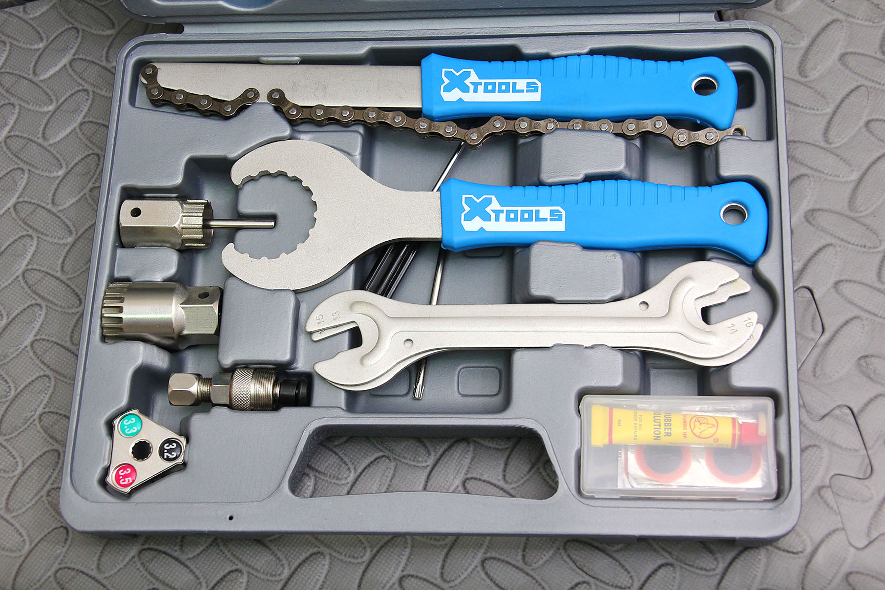 Zero 12 5-IN-1 Cassette Wrench Freewheel Chain Whip And Pedal Spanner