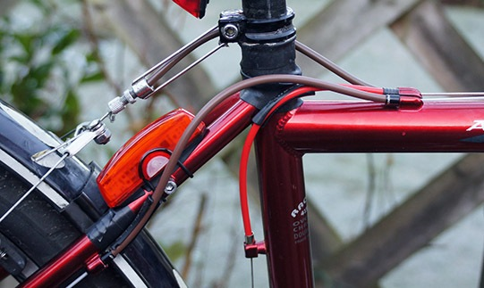 BICYCLE JAGWIRE HOUSING CABLE BRAKE SHIFTER KIT RED