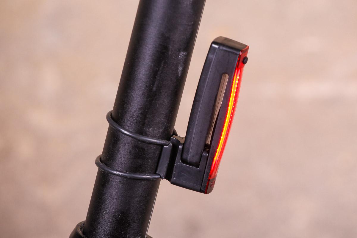 Knog Plus Front LED Light USB Rechargeable Clear