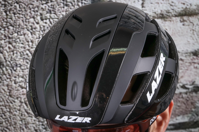 White//Black Lazer Century MIPS Helmet Medium