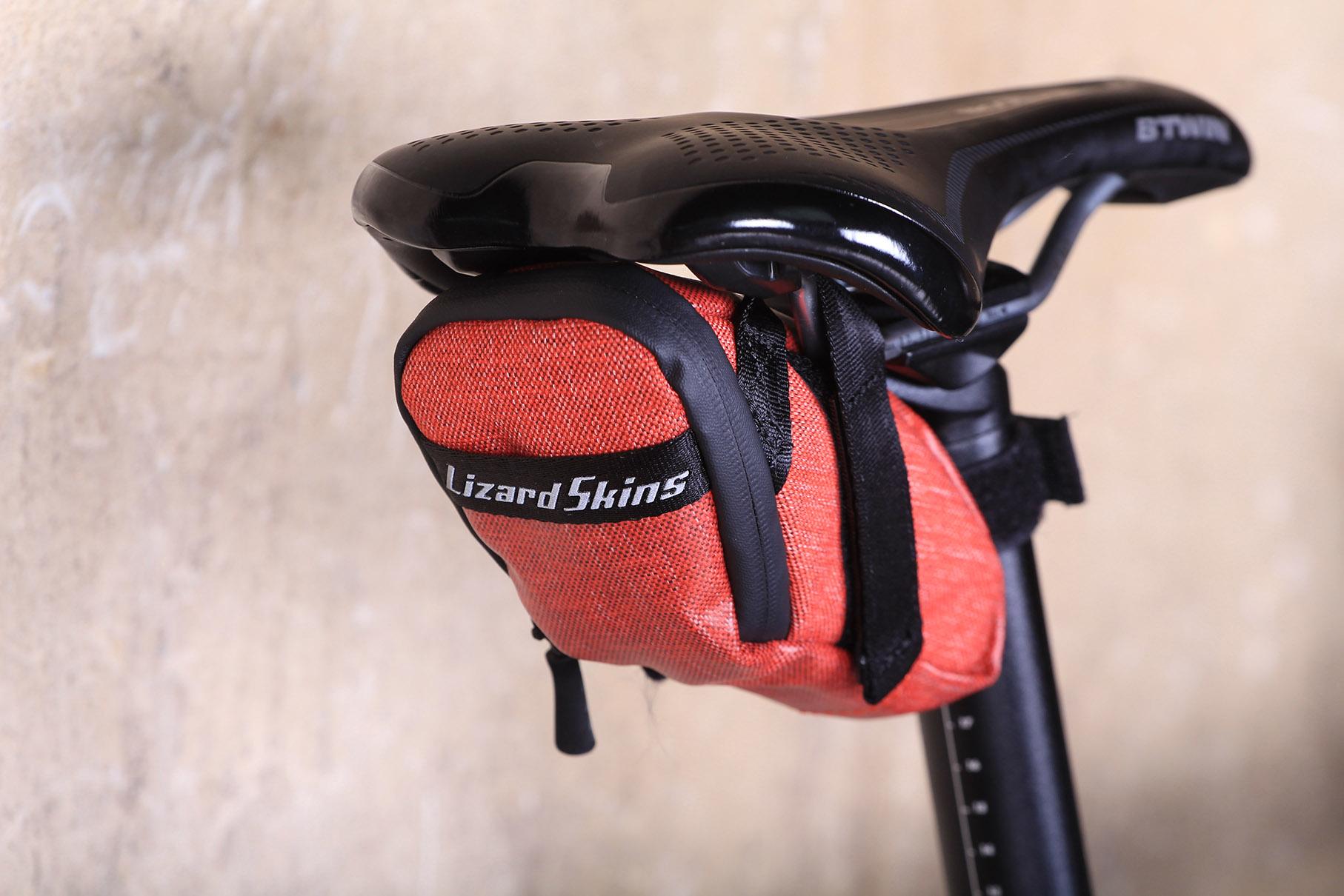 Biking Mountain Bike Lizard Skins Micro Cache Saddle Seat Bag Cycling