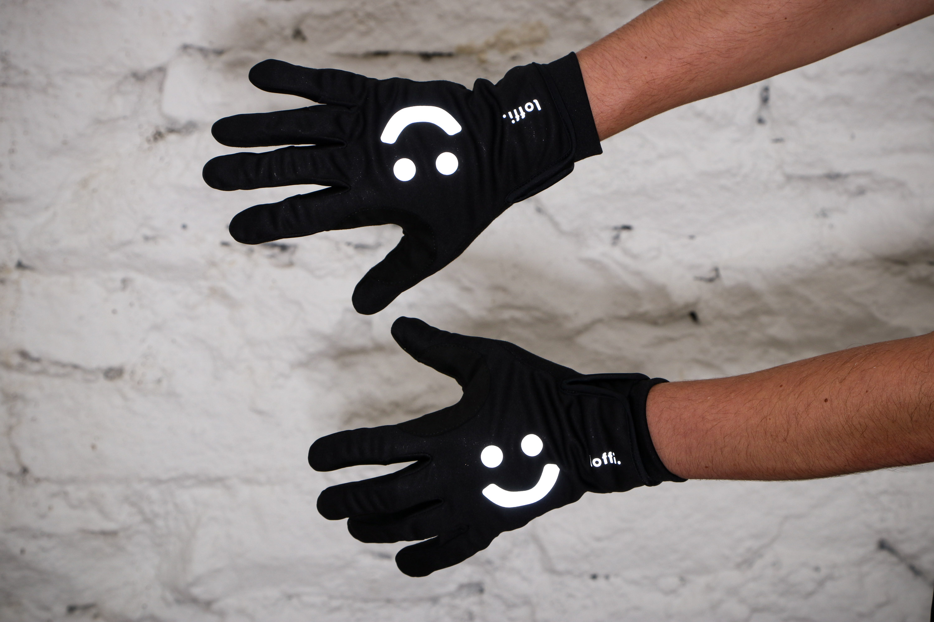 Towelling Thumb Area High Grip Palm Touch Screen Compatible Cycling Gloves