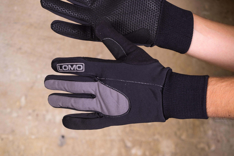 2016 Men/'s Winter Cycling Full Finger Gloves Thermal Bike Team Waterproof Gloves