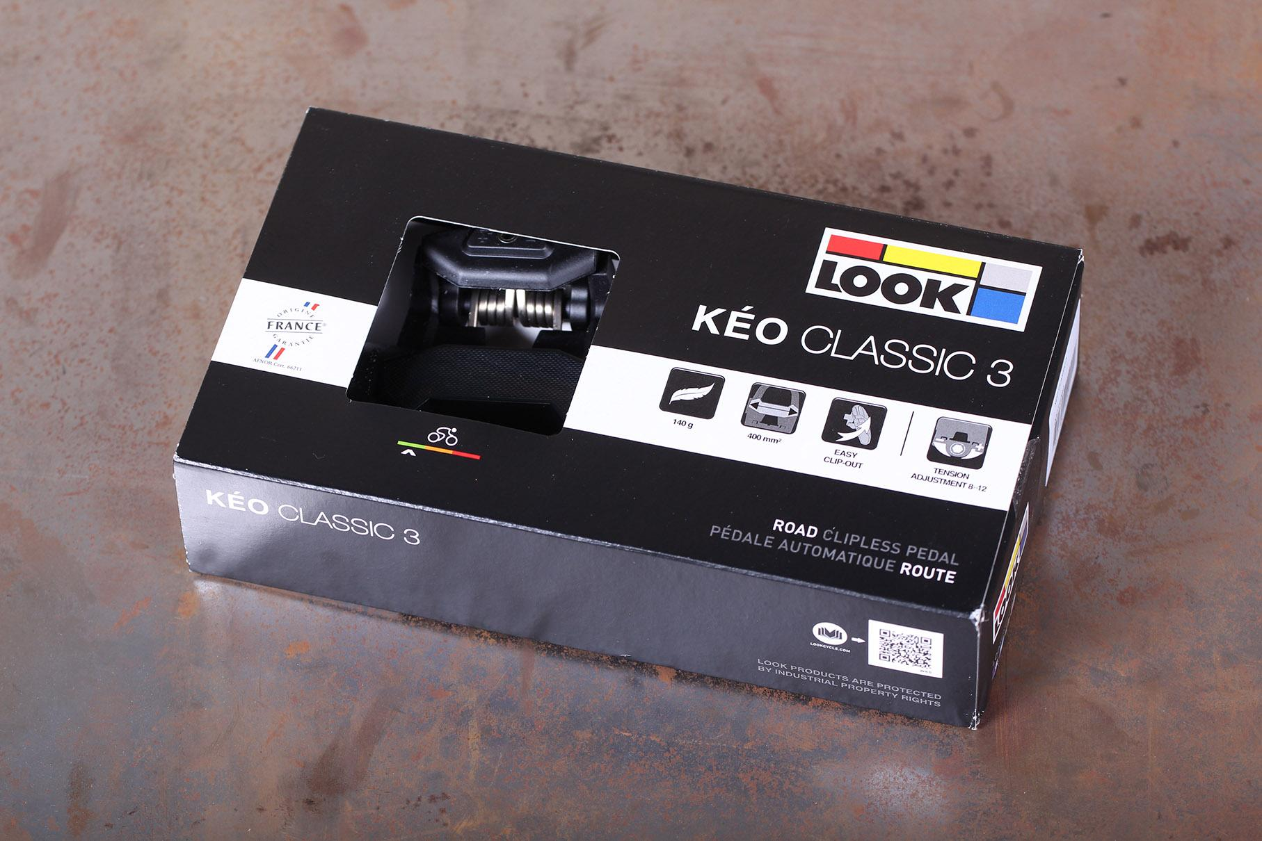 496ef3d9242 8 Look Keo Classic 3 Road Clipless Pedal £39.99 A great update to ...