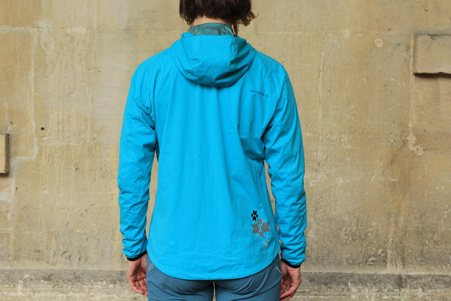 Flux Super Light Men's Waterproof Softshell Jacket Medium Blue Madison