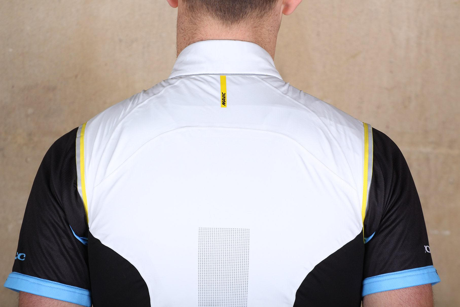 Mavic Vision H2O Windproof Water-Resistant Cycling Vest Men/'s Med Wht//Blk New