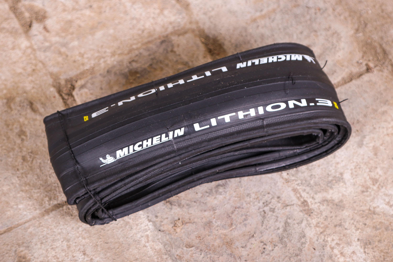 Michelin 2020 Lithion 3 Road Bike Folding Race Tire 700c x 23c 1 Single pcs Red