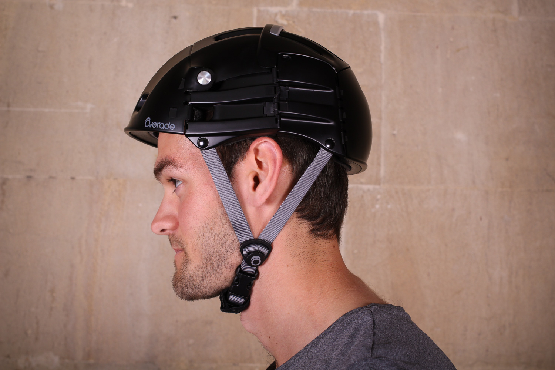 S//M Overade Plixi Folding Helmet 54-58 cm White NIB