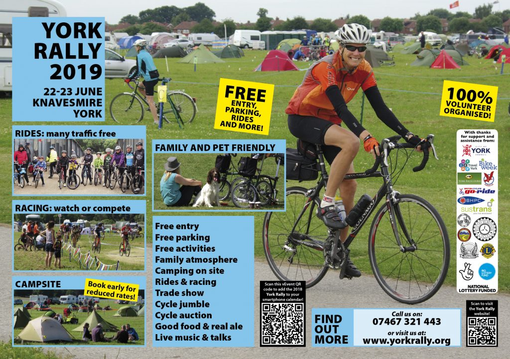 York Rally 2019 poster