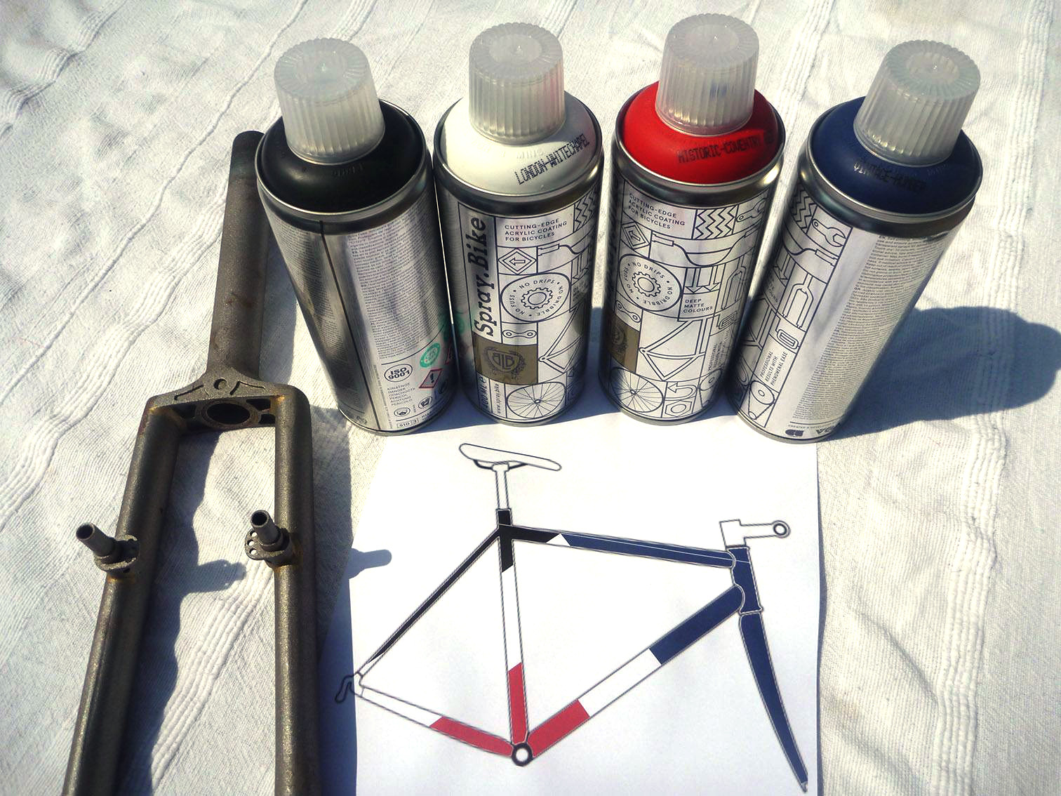 8 Spray.Bike paint £7.95 A cheap and satisfying way to renew that old ...