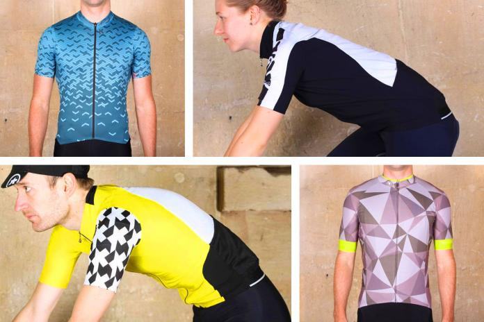Butterfly Sports Bike Perspiration Cycling Jersey V-Neck Top T-Shirt Tee