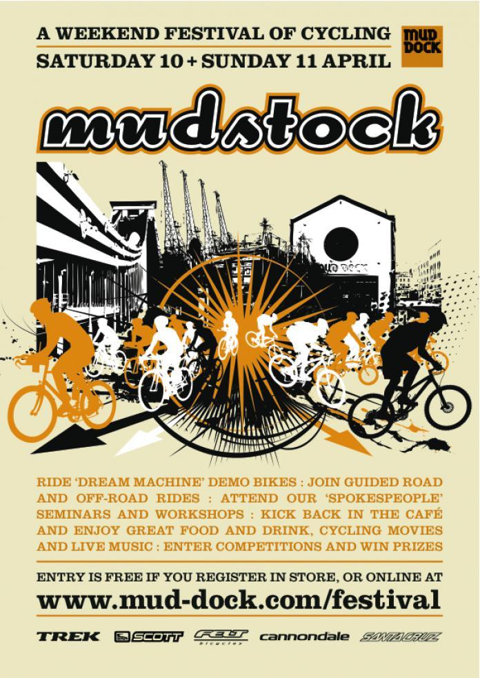 Mudstock comes to Bristol in April   road cc