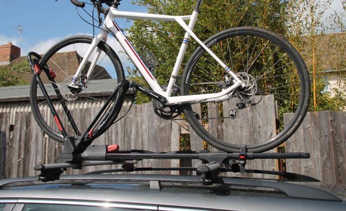 1 Bike Car Roof Carrier Rack Bicycle Racks  with Lock Pack of 2