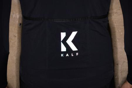 Kalf Club Thermal Men's Long Sleeve Jersey - pocket refelcting.jpg