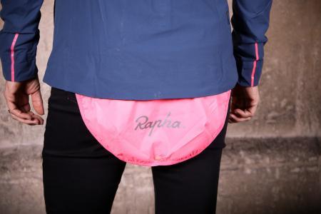 Rapha Womens Hooded Rain Jacket - rain flap.jpg