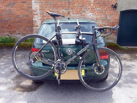 Saris Super Bones 3-Bike Rack - on Golf one bike.jpg & Review: Saris Super Bones 3-Bike Rack   road.cc