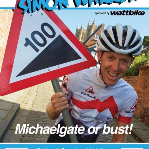 Simon Warren Lincoln event 100 Climbs