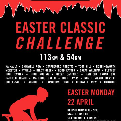 The London Phoenix Easter Classic Sportive - 22nd of April
