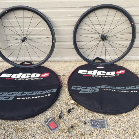EDCO carbon fibre wheelset Brand new bargain