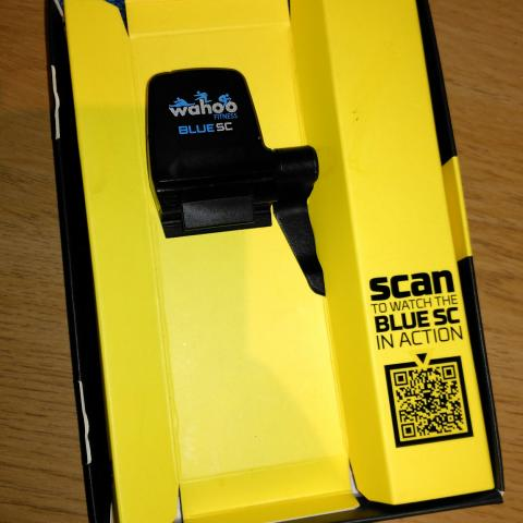 For sale: Wahoo Blue SC Bluetooth Speed and Cadence Sensor - £25