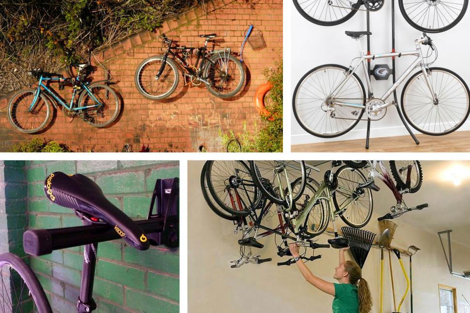 Indoor stylish bike storage exclusive photo