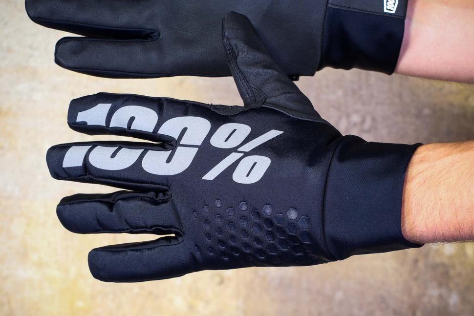 100% Hydromatic Brisker Gloves - back.jpg