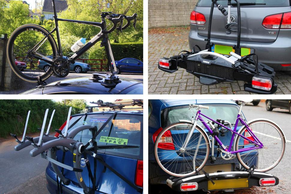 WNB EU MADE UNIVERSAL CAR ROOF BICYCLE BIKE CARRIER UPRIGHT MOUNTED CYCLE RACK