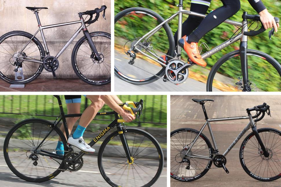 12 of the loveliest titanium road bikes April 2019