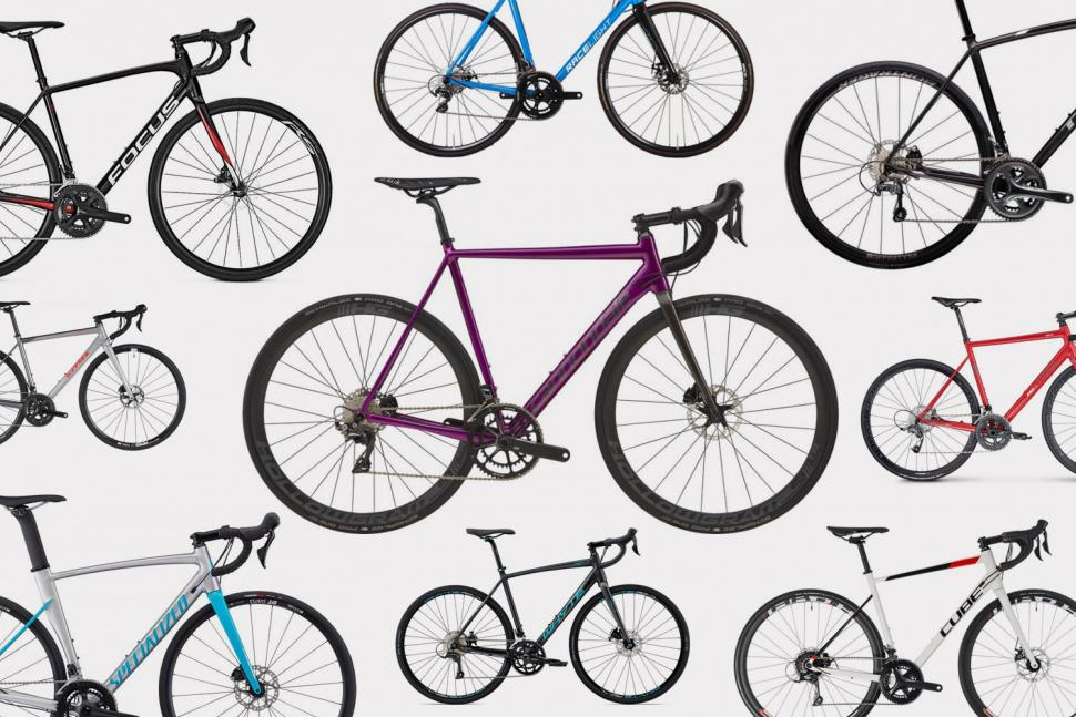 15 aluminium disc-equipped road bikes August 2018