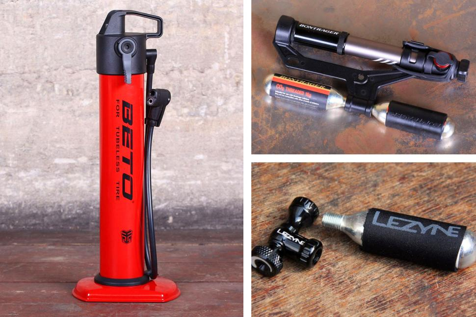 20 of the best bike pumps and CO2 inflators find a way to