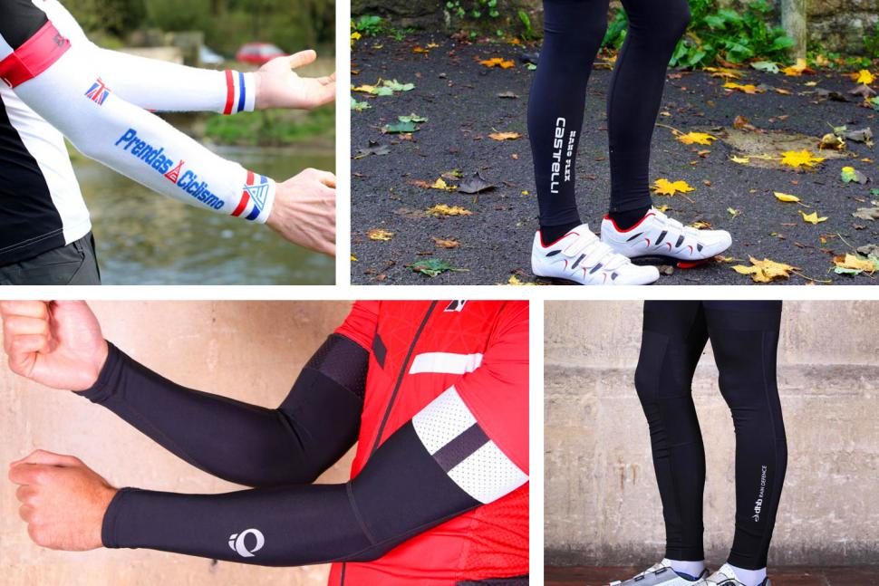 Leg Thermal Cycle Bicycle Warmers Winter Black Cycling Arm Warmers Knee