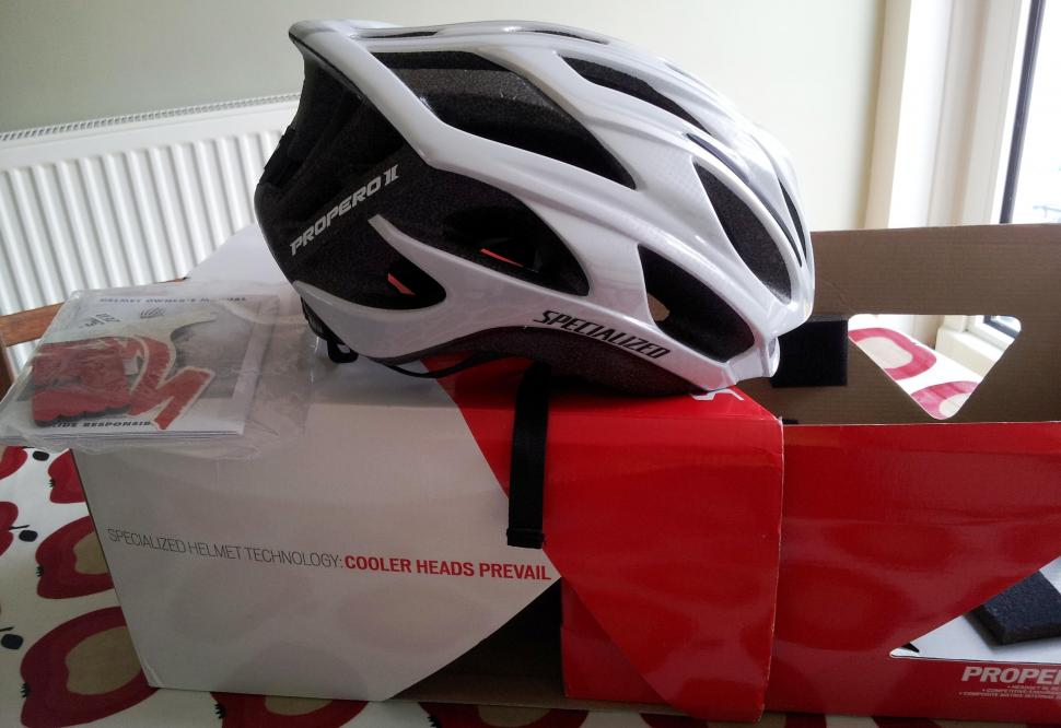 e20d7861f66 Specialized Propero II 2 white, size L large, £70 new. New, unworn, in box  without tags. Manual and additional pads still in sealed bag.