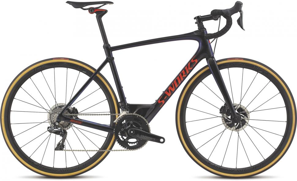 Specialized S-WORKS Tarmac Disc Di2 Frameset 56cm FACT 11r Carbon /'16 NEW in Box